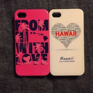 Accessories - iPhone 4 Hawaii cases. comes with free phone case